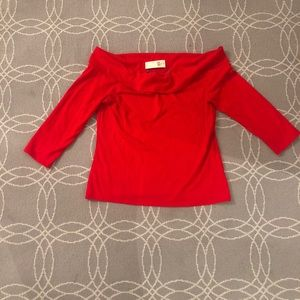 Anthropologie Boat Neck Top NWT